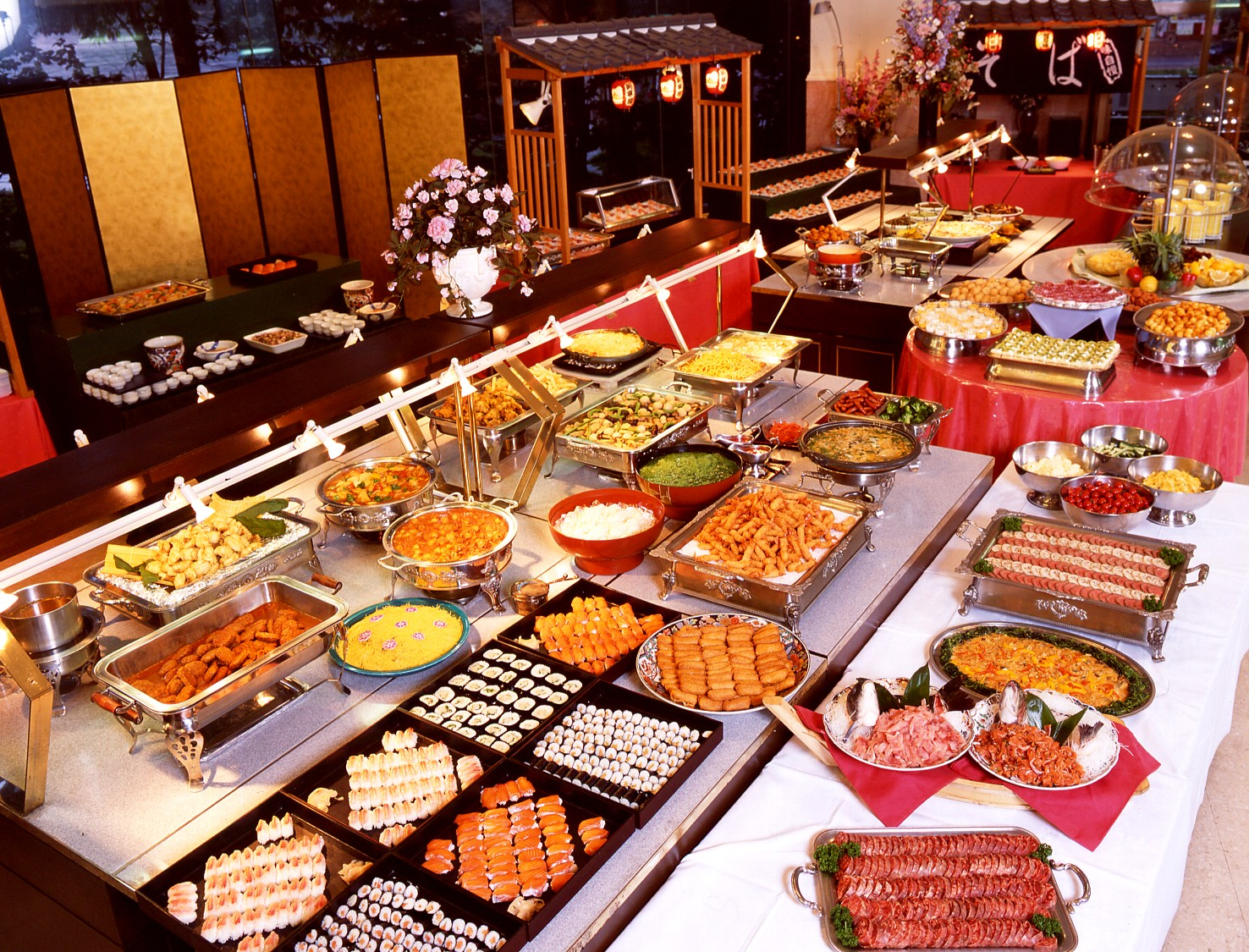 Buffet glenn gary gamboa s chinese food history chinese for Asian cuisine buffet