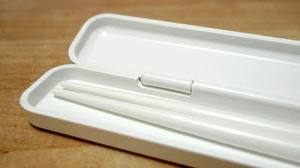 Reusable chop sticks with carrying case