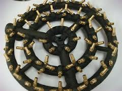 Here is a 170,000 Btu wok burners ... looks a little like a jet engine
