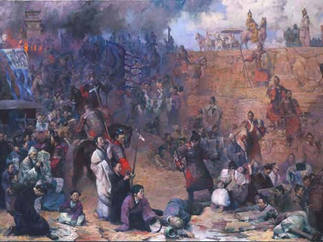Burning of the books and burying of the scholars